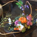 秋の実りをいける会 (第3部)