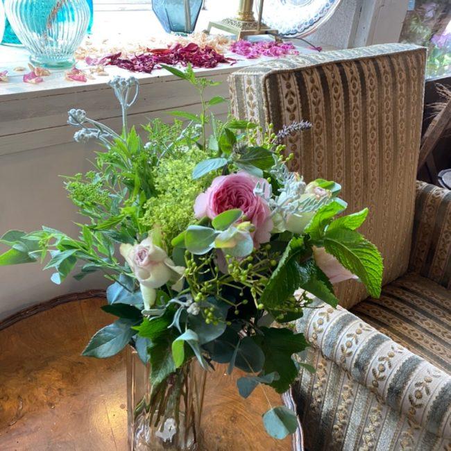 フレッシュハーブのブーケロン(bouquet rond)